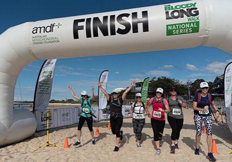 Finish - Mooloolaba Beach